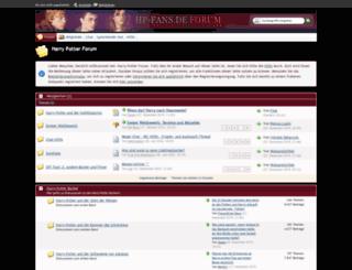 harry-potter-community.de screenshot