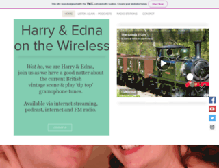 harryandedna.co.uk screenshot