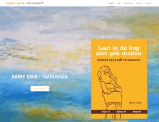 harrygrob.nl screenshot