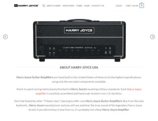 harryjoyce.com screenshot