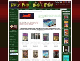 harrypotterbooksonline.co.uk screenshot