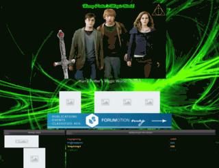 harrypottermagic.forumakers.com screenshot