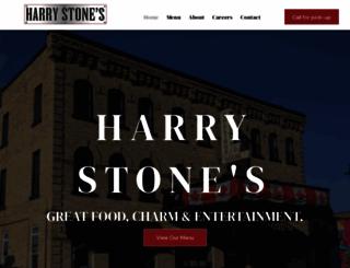 harrystones.com screenshot