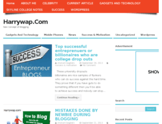 harrywap.com screenshot