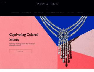 harrywinston.com screenshot