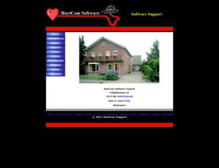 hartcomsoftware.nl screenshot