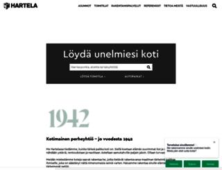 hartela.fi screenshot
