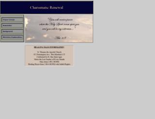 hartfordcharismatic.org screenshot