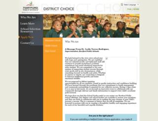 hartforddev.smartchoiceschools.com screenshot