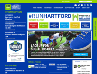 hartfordmarathon.com screenshot