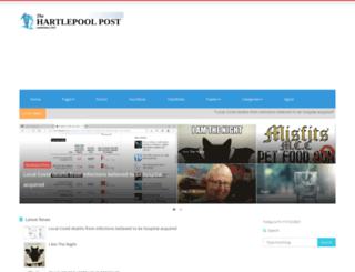 hartlepoolpost.co.uk screenshot