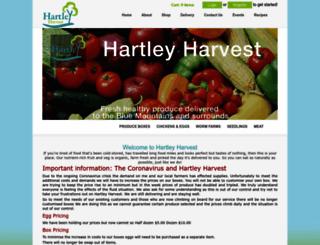 hartleyharvest.com.au screenshot