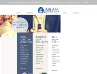 hartleyjewelers.com screenshot