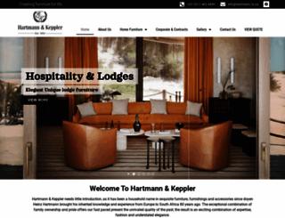 hartmannandkeppler.co.za screenshot