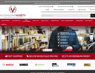 hartmannvariety.com screenshot