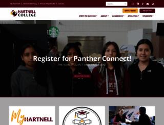 hartnell.edu screenshot