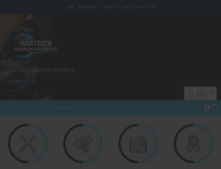 hartrickeuropeanauto.com.au screenshot