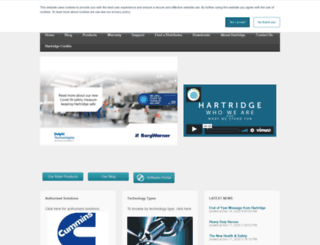 hartridge.com screenshot