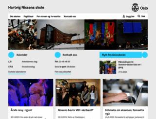 hartvig-nissen.vgs.no screenshot
