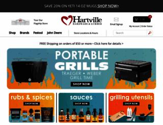 hartvillehardware.com screenshot