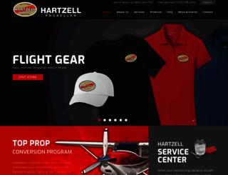 hartzellprop.com screenshot