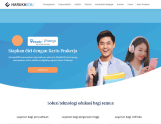 harukaedu.com screenshot