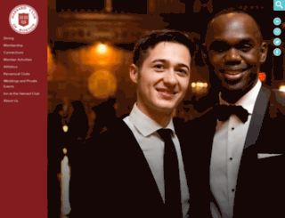 harvardclub.com screenshot