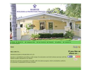 harveebuildersandpromoters.com screenshot