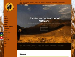 harvestime.org screenshot