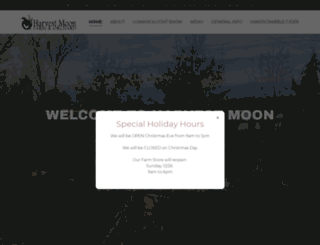 harvestmoonfarmandorchard.com screenshot