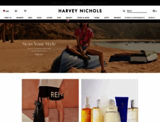 harveynichols.com screenshot