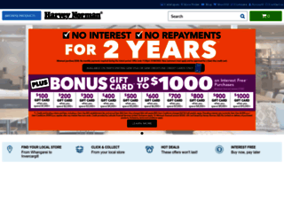 harveynorman.co.nz screenshot
