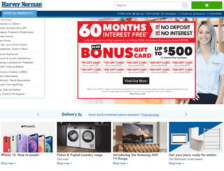 harveynormanbabyandtoys.com.au screenshot