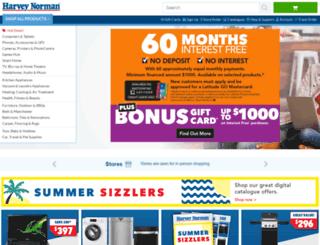 harveynormanbigbuys.com.au screenshot