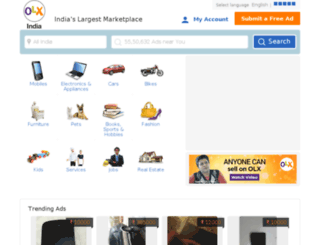 haryana.olx.in screenshot