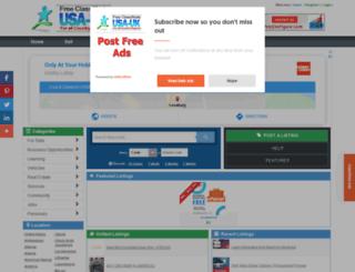 haryana.usauk-classifieds.com screenshot