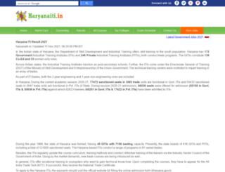 haryanaiti.in screenshot
