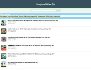 haryanvivideo.in screenshot