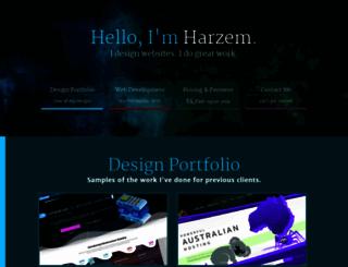 harzemdesign.com screenshot