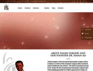 hasansurgery.com screenshot