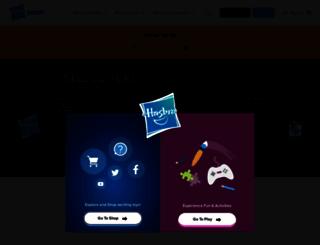 hasbroscrabble.com screenshot