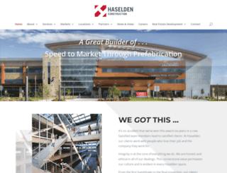 haselden.com screenshot