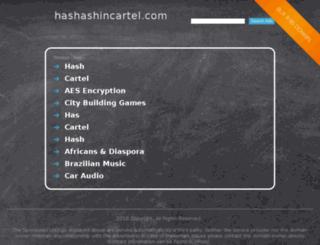 hashashincartel.com screenshot