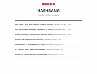 hashbang.gr screenshot