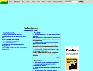 hashemian.com screenshot