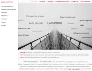 hashimoto.pl screenshot