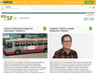 hashtag.usfca.edu screenshot