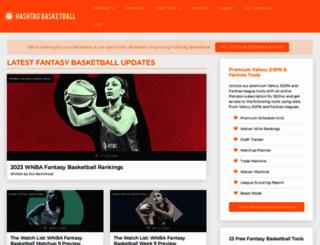 hashtagbasketball.com screenshot