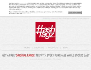hashtagz.co.uk screenshot