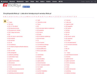 hasla.moto.pl screenshot